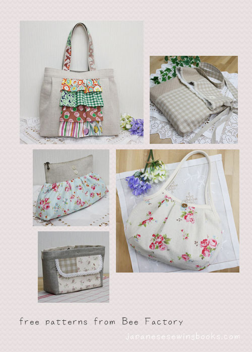 Free Japanese Sewing Patterns Bee Factory Japanese Sewing