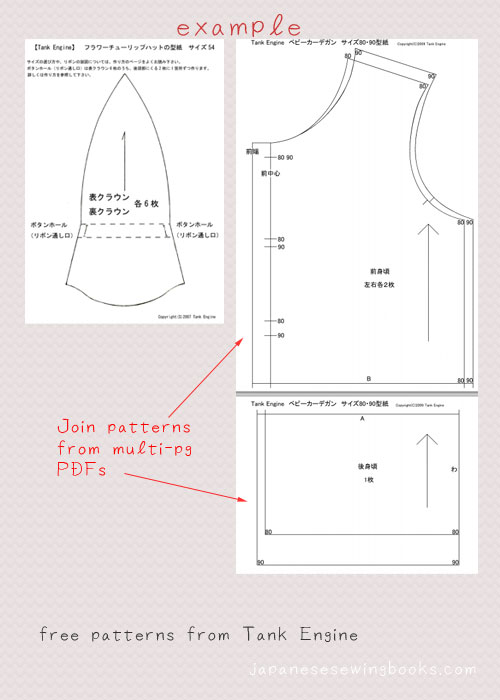 Free Japanese Sewing Patterns Tank Engine Japanese Sewing