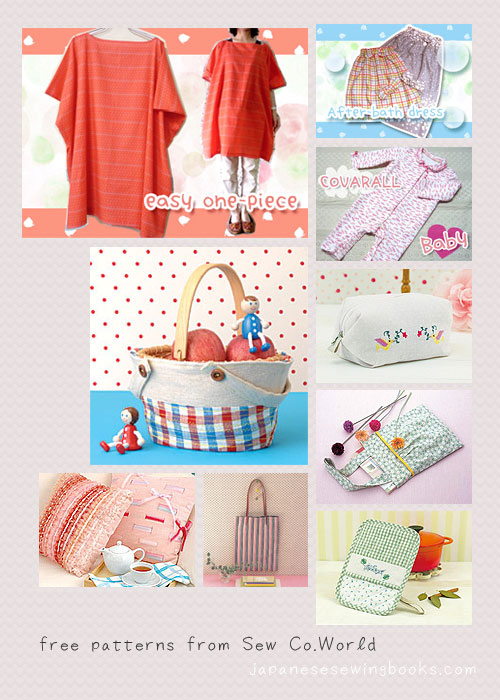 free japanese sewing patterns japanese sewing pattern