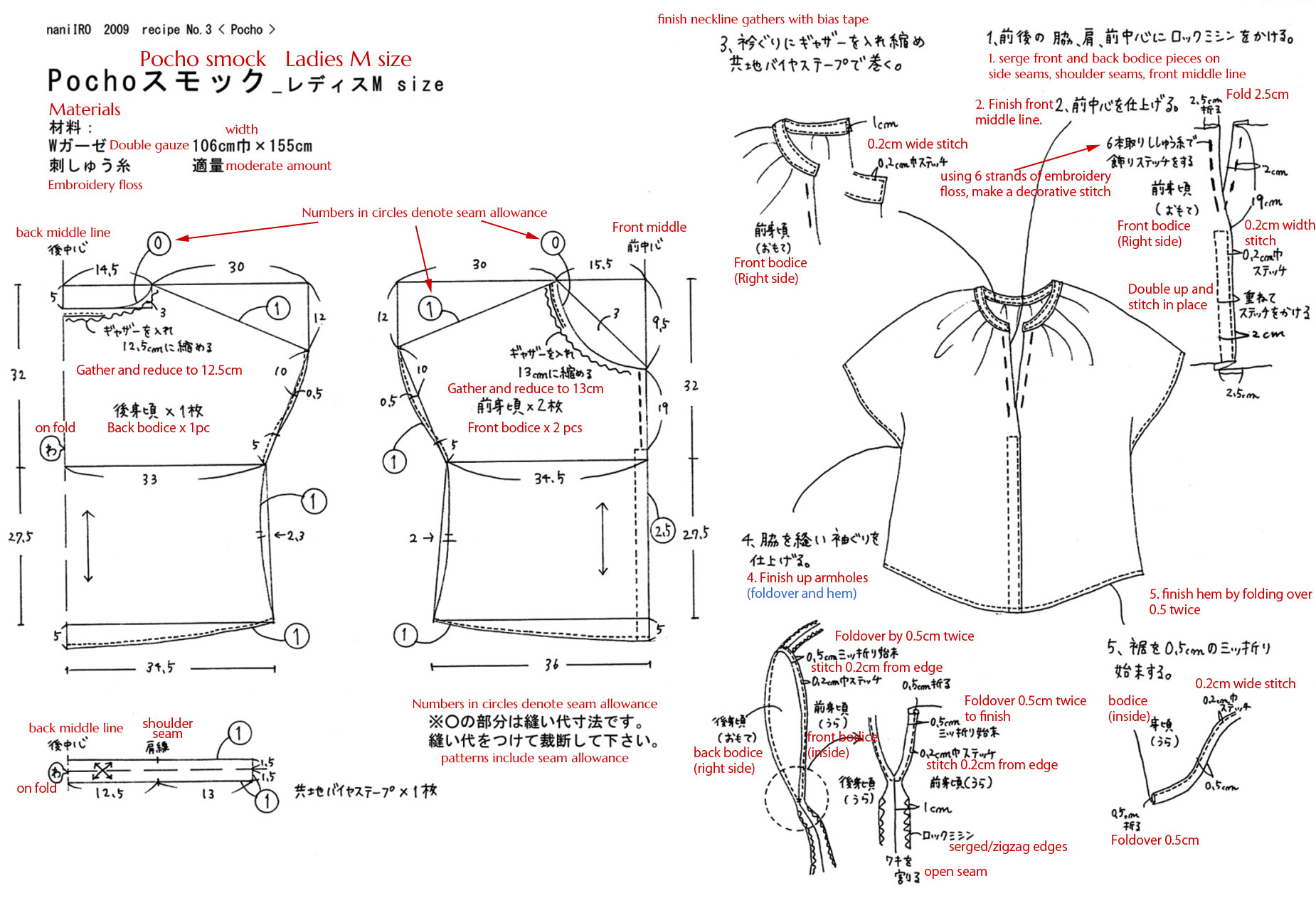 Translation requests 2 nani iro patterns japanese sewing click jeuxipadfo Gallery