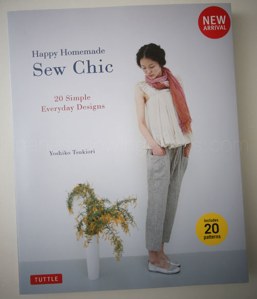 Book Review – Happy Homemade : Sew Chic (in English) | Japanese ...