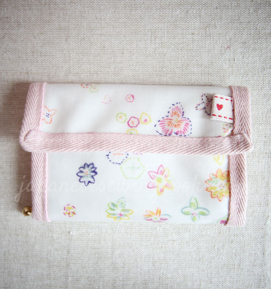 Simple wallet sewing video tutorial with free pattern – Sew-along ...
