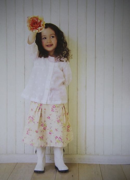 Book Review Sew Sweet Handmade Clothes For Girls Now In English