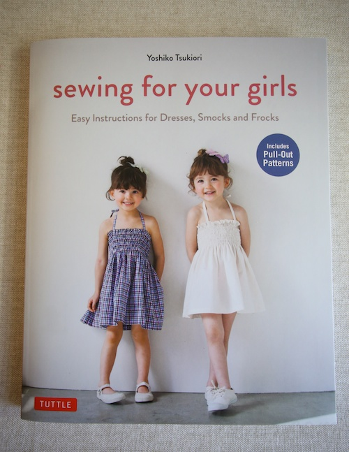 Book Review – Sewing for your girls (Sewing Recipe in English)