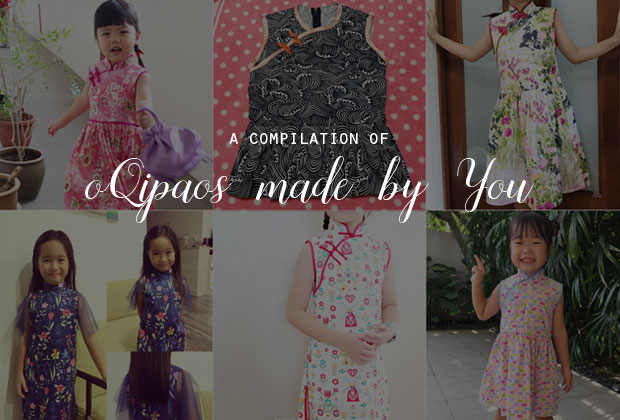 Throwback Thursday – Free Chinese Dress / Qipao pattern for girls