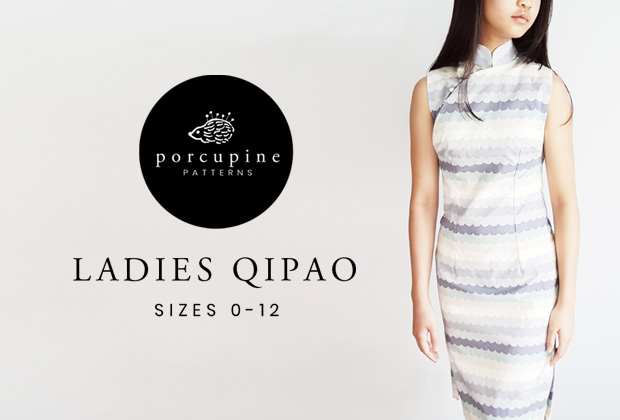 New Pattern Release – Ladies Qipao (New and improved!)