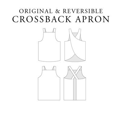 crossbackapron