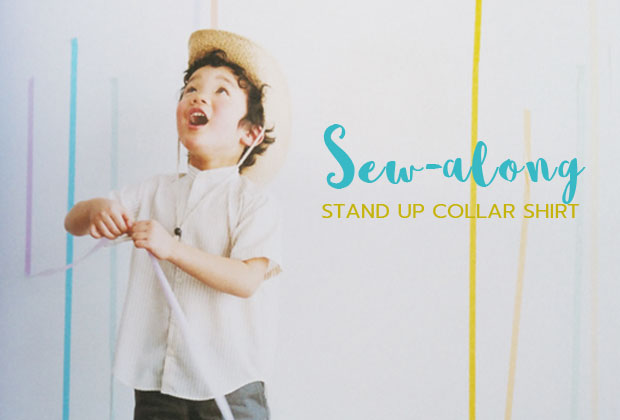 Sew-Along for Boy's Stand-Up Collar Shirt Day 2